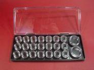 Sehr hochwertige Kleinteile-Lager-Box aus Kunststoff