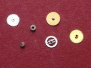 Ebel 157 = Cartier 157 Räder (6 Stück)