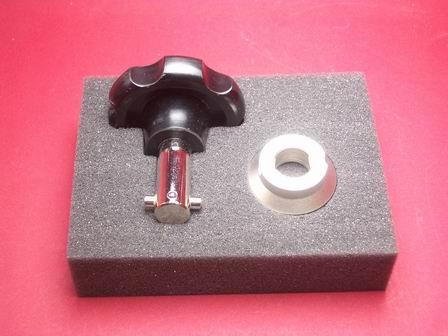 Gehäuseöffner-Set Werkzeug mit Einsatz für geriffelte Böden auch zum Öffnen und Schließen von Uhren der Marke Rolex DEEPSEA