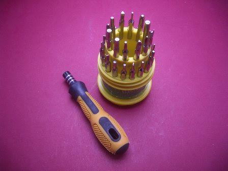 Schraubendreher-Set Werkzeug 31 Tlg.