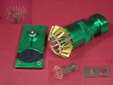Glasabheber Werkzeug-Set mit Halteplatte
