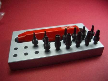Werkzeug-Set für Schraubdrücker & Rolex-Tuben