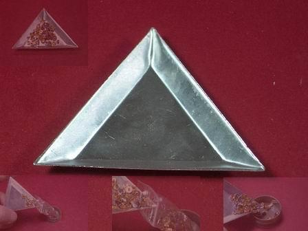 Sortierschale aus Aluminium
