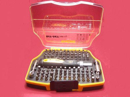 Steckschlüssel und Schraubendreher-Set 105-tlg Werkzeug