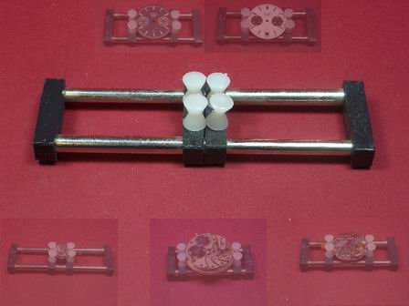Werk- und Zifferblatthalter Werkzeug mit Schnellspannvorrichtung
