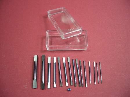 15 sehr hochwertiges Schraubendreherklingen-Set mit einer Schraube Werkzeug