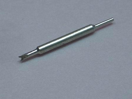 Ersatzspitze für Federsteg Werkzeug mit kleine V-Gabel und Spitze