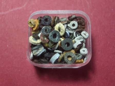Kronendichtungen aus Leder für alte Armbanduhren