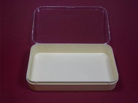 Kunststoff-Dose Box mit transparentem Deckel