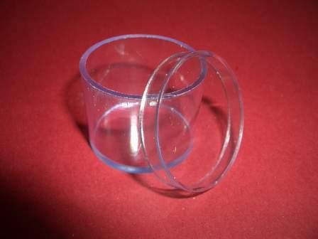 Kunststoffdose Box mit Deckel 25mm x 23mm