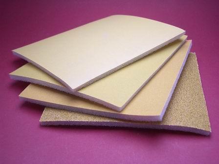 Flexibles Schleifpapier-Set mit 60er, 320er, 500er und 800er Korn