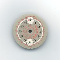 Chronographen-Zifferblatt Pierce Kaliber: 134 Durchmesser: 29,00mm