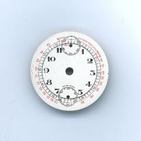 Chronographen-Zifferblatt Pierce Kaliber: 134 Durchmesser: 28,10mm