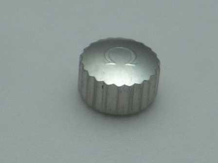 Omega Krone in Stahl, wasserdicht Ø 6,00mm Höhe 3,60mm Gewinde 0,9mm