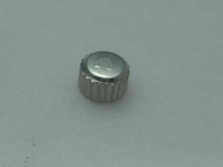 Omega Krone in Stahl, wasserdicht Ø 3,05mm Höhe 2,02mm Gewinde 0,9mm