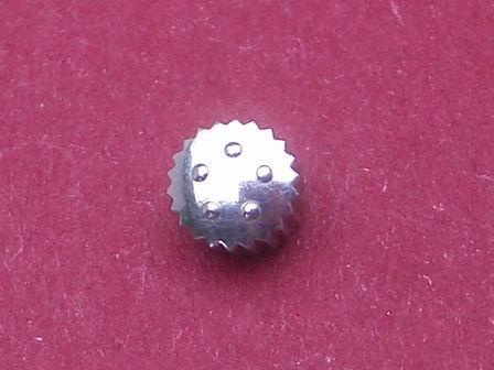 Eterna Krone in Stahl, wasserdicht Durchmesser: 3,96mm