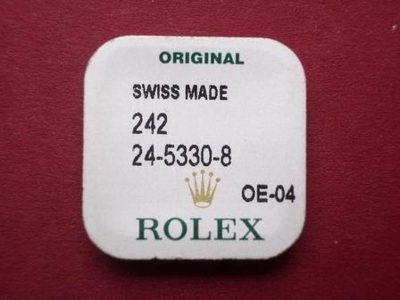 Rolex und Tudor Tube 24-5330-8 in Gold mit einer Dichtung und einem Ring