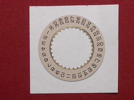Rolex 3156-131 Datumscheibe pink Datumsfenster bei der 3