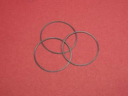 3 Boden-Dichtungen 29-337-8 passend auch für Uhren der Marke Rolex Ref. Nr: 9420, 9421, 9430 ...