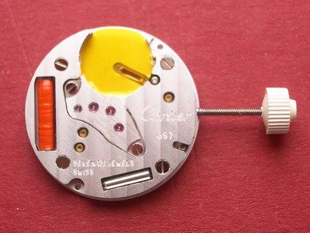 Uhrwerk Cartier Cal. 687  Datumanzeige bei der 6 (Uhrwerk nur im Vorabtausch) MX0010f7