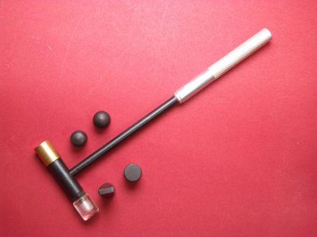 Uhrmacherhammer-Set Werkzeug mit 6 Einsätzen