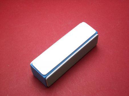 Schleif- und Polierblock, 4 Schleifflächen je ca. 90mm x 23mm