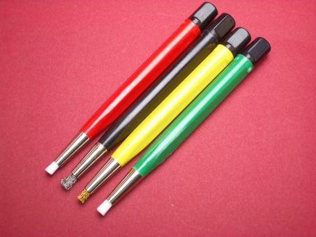 Reinigungsstifte in Messing, Stahl, Glasfaser fein und extra fein Werkzeug