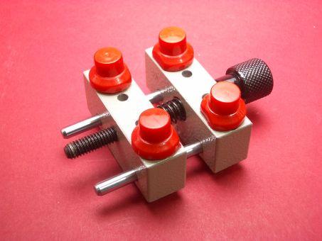 Jumbo Gehäusehalter-Set mit 4 Einsätze bis 60mm