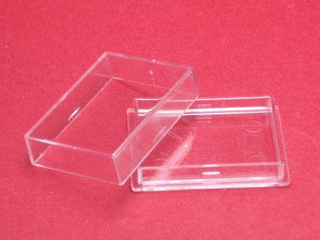 1 Kunstoffdose Box mit Deckel ca. 35mm x 25mm x 9,4mm, beachten sie unsere Staffelpreise