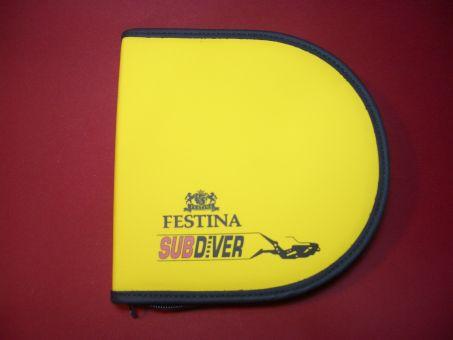 Festina Subdiver Box, Tasche für die Uhr, Armband, Werkzeug und Garantiekarte mit Beschreibung geeignet