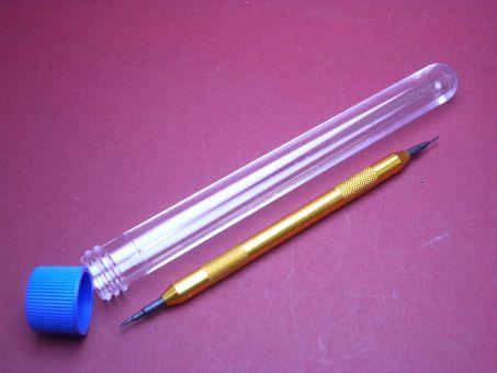 Federsteg Werkzeug aus Metall mit auswechselbaren Spitzen