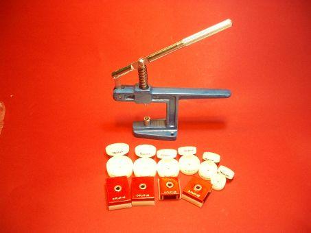 Glas Einpressgarnitur mit 16 Einsätzen Werkzeug-Set