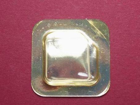 Cartier Santos Carrèe PM Saphier Uhrenglas Maße: 15,7mm x 15,7mm für die Ref.: 0163, 1552,, 20360172
