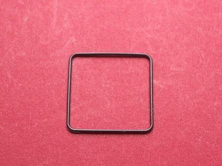Cartier Lünetten-Dichtung Techn. Ref. 0160, 0284, 1553 für Santos Carrée GM Maße: ca. 20mm X 20mm