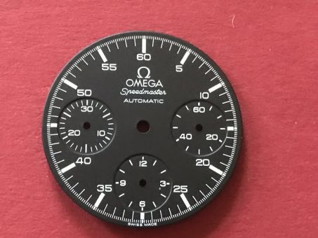 Omega Speedmaster Automatic Chronographen Zifferblatt, Durchmesser: 28,54mm