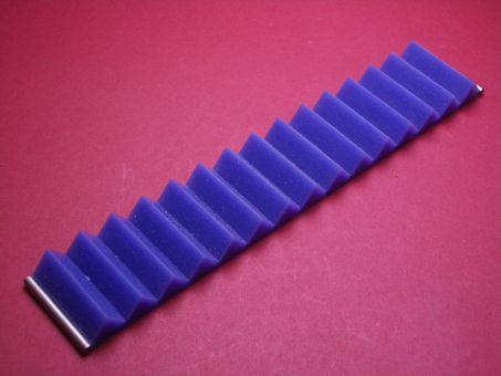 Silikon-Armband 30mm blau