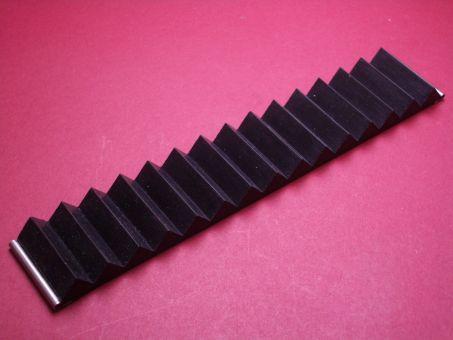 Silikon-Armband 30mm schwarz