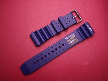 Sport- Taucher- Uhren- Armband 22mm Blau