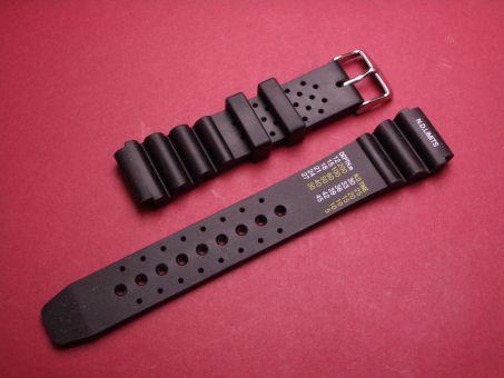 Sport- Taucher- Uhren- Armband 20mm Schwarz