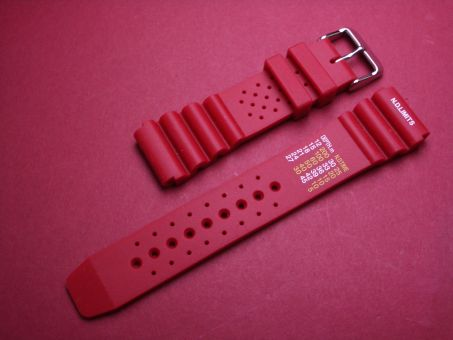 Sport- Taucher- Uhren- Armband 20mm Rot