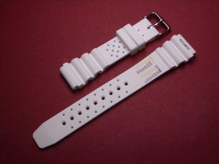 Sport- Taucher- Uhren- Armband 20mm Weiß