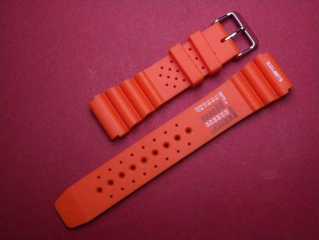 Sport- Taucher- Uhren- Armband 20mm Orange