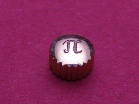 Pierce double Krone, Ø 4,5mm, Höhe 2,9mm, Gewinde 0,9mm, Tubus 2,0mm