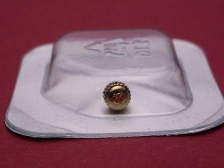 Baume & Mercier Uhren Krone mit Gold-Auflage