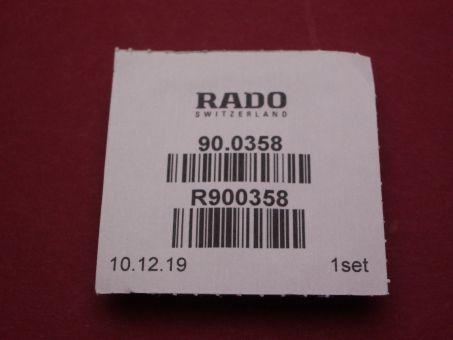 Rado Wasserdichtigkeitsset 0358 für Gehäusenummer 153.3606.2N