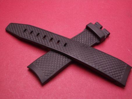 IWC Aquatimer Uhrenarmband, 22mm im Verlauf auf 18mm, Farbe: schwarz  ohne Dornschließe