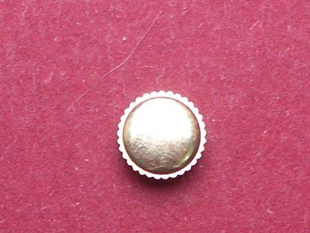 Uhrenkrone gelb Durchmesser: 6,0mm