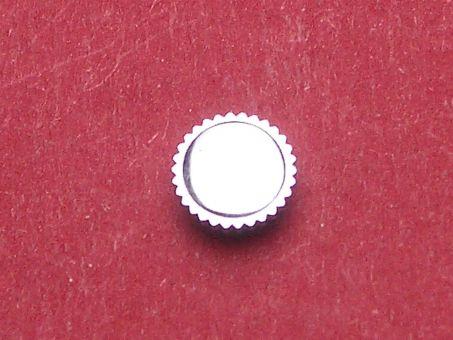 Uhrenkrone weiß Durchmesser: 6,0mm