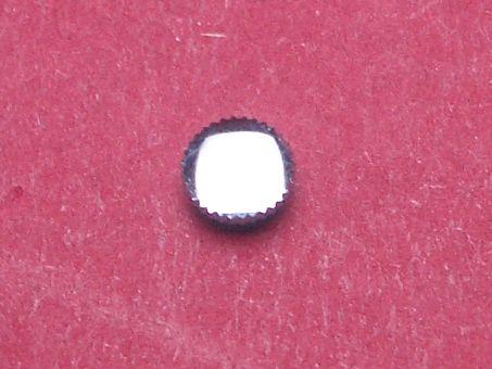 Uhrenkrone weiß Durchmesser: 4,9mm