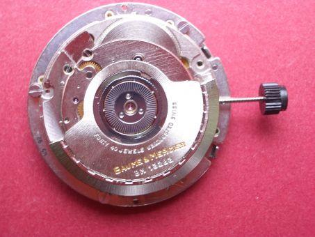 Uhrwerk Baume & Mercier Cal. BM13283, ETA 2892-2 Datum bei der 3 mit Chronographen Modul